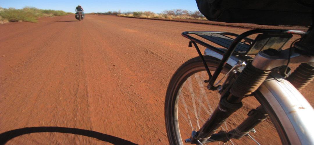bike touring, Tanami Track, Northern Territory