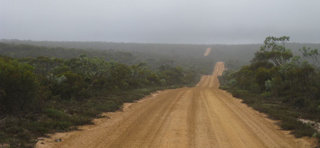 the road to Point Ann, Fitzgerald River National Park, South coast, Western Australia