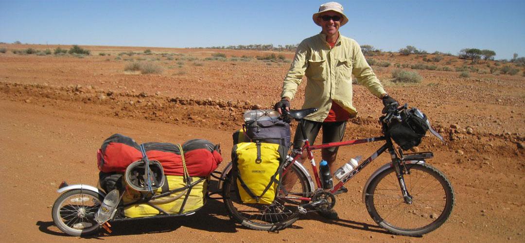 solo bike touring, GJ Coop