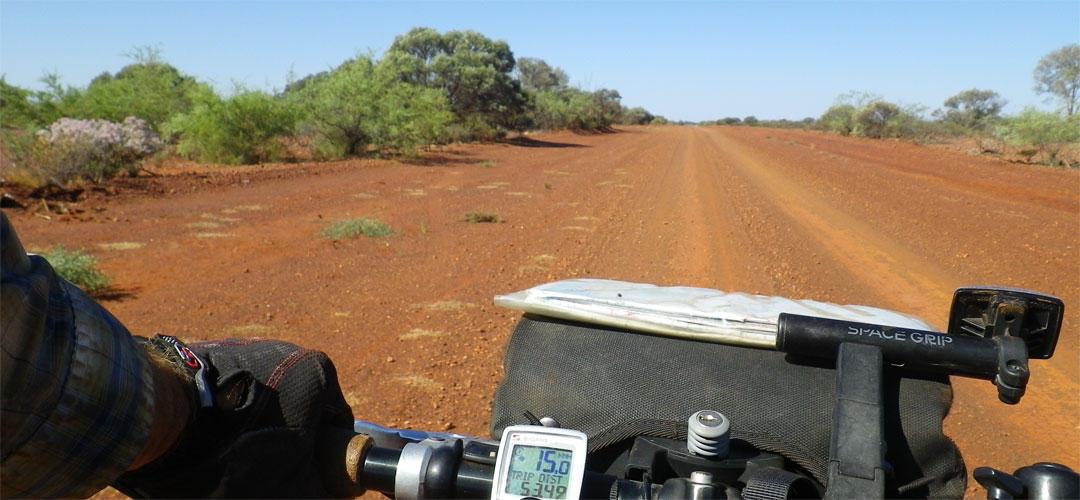 long distance bike touring