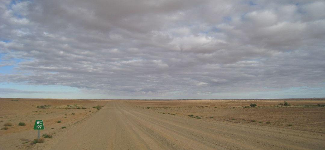 bike touring, Oodnadatta Track, South Australia