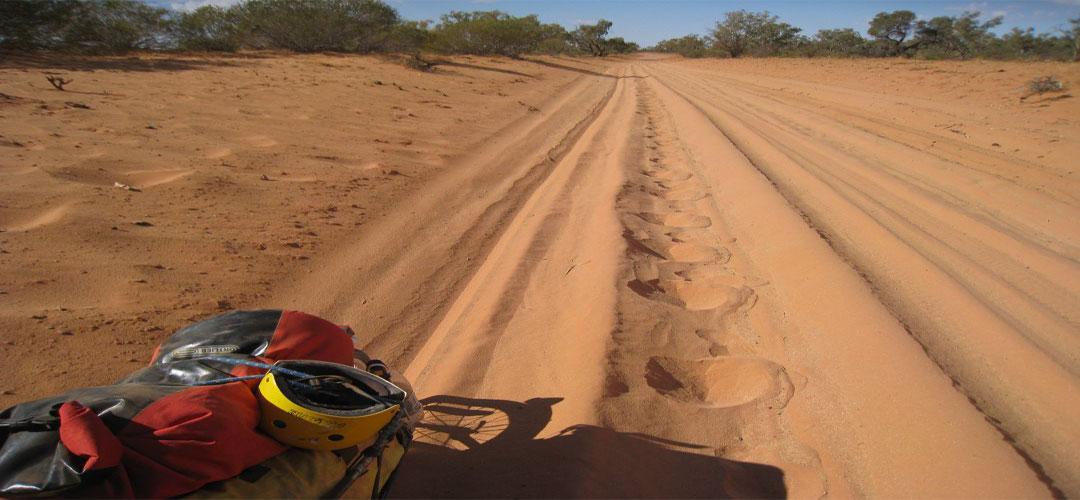 bike touring, New Crown Station, Finke Road, Northern Territory