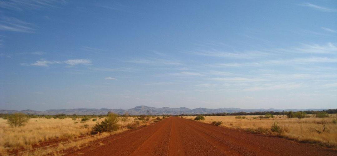 cycle touring, Karijini National Park, Western Australia
