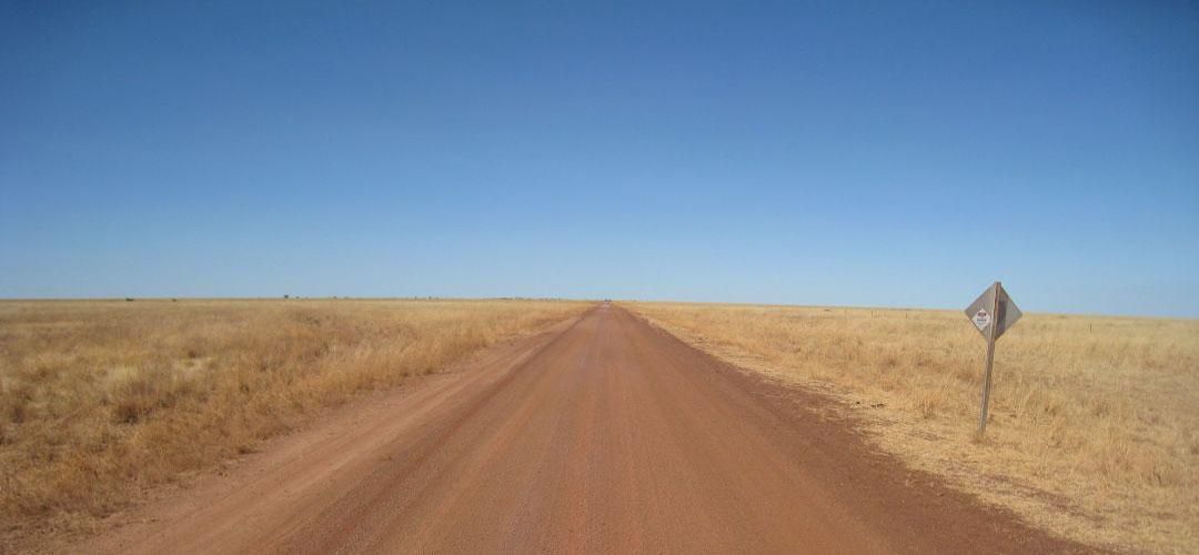 bike touring, Duncan Road, Buntine Highway, Western Australia