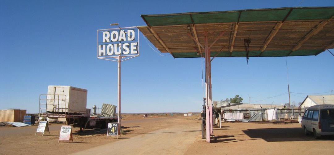 budget accommodation, Pink Roadhouse, Oodnadatta, South Australia