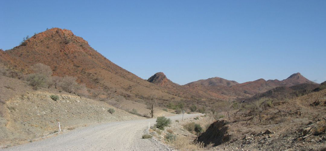 mountain bike territory, Arkaroola, Northern Flinders Ranges, South Australia