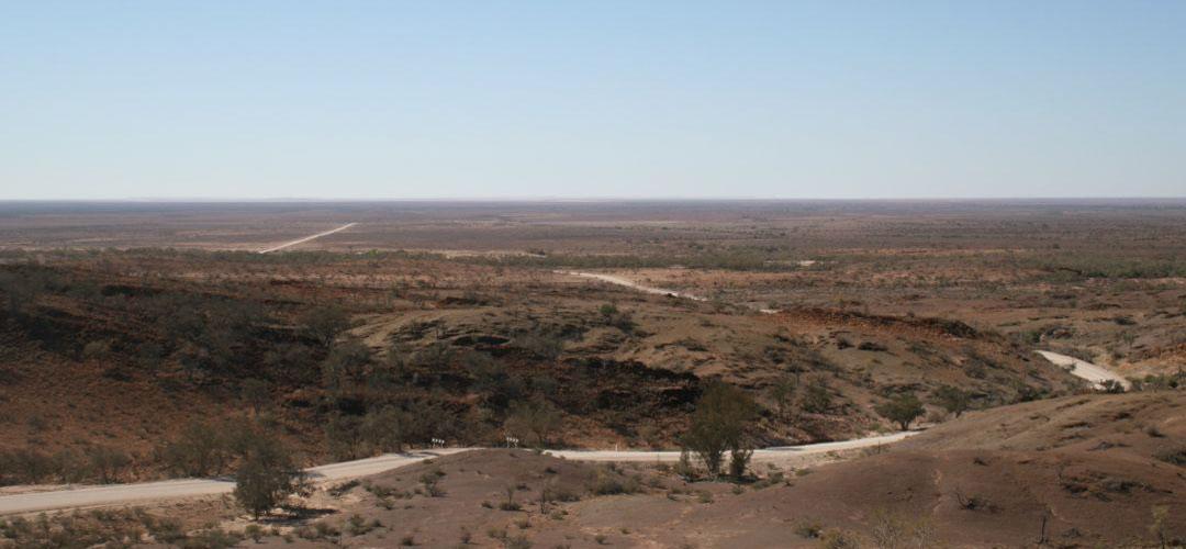 Solo touring.   Road to Arkaroola, South Australia
