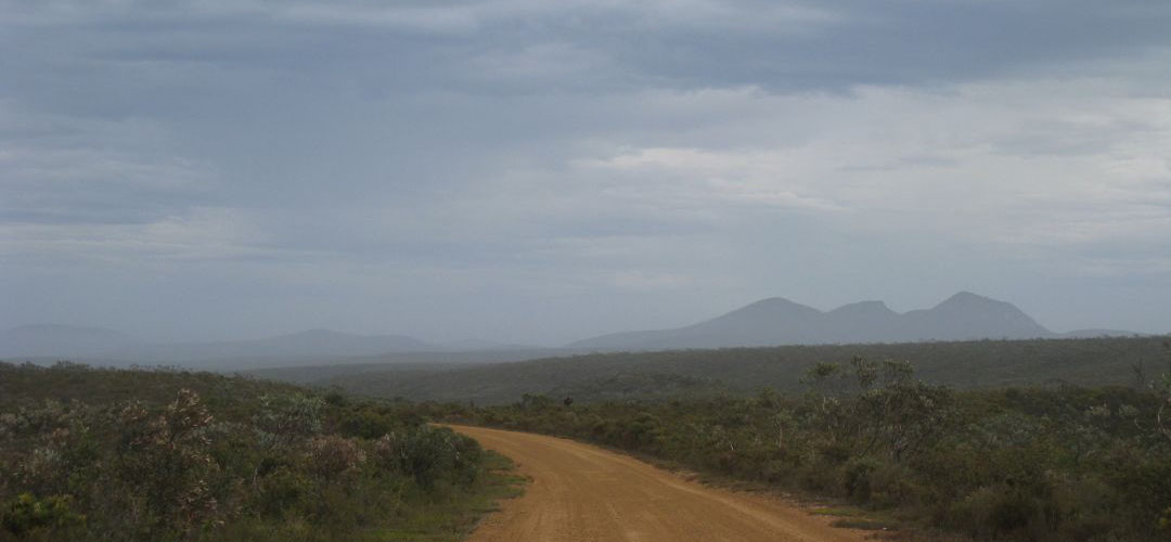 remote cycling, Hamersley Inlet, Fitzgerald River National Park, south coast Western Australia