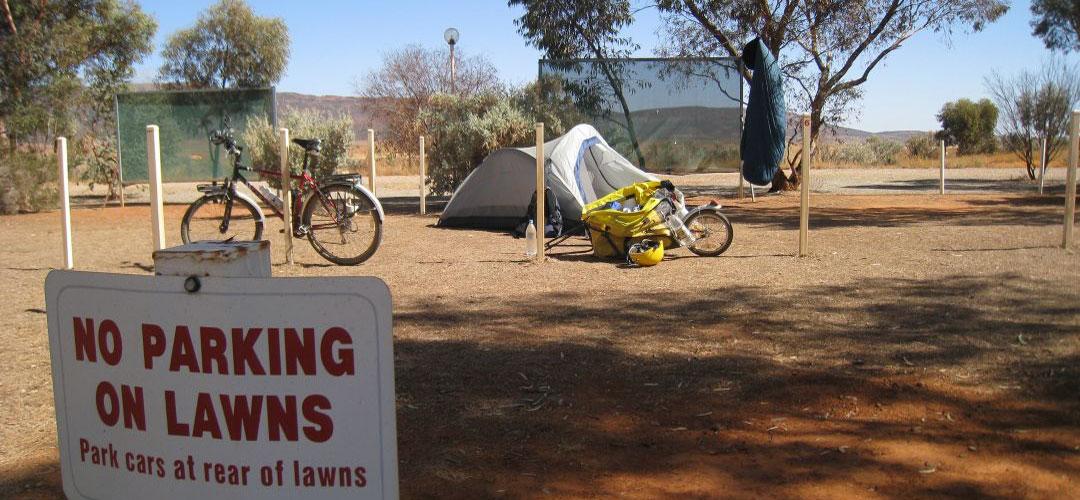 Hawker Caravan Park, Mawson Trail, South Australia