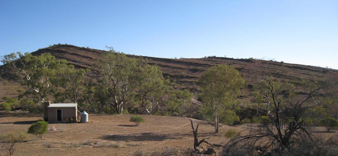cheap accommodation at Middlesight Waters Hut, Mawson Trail, South Australia