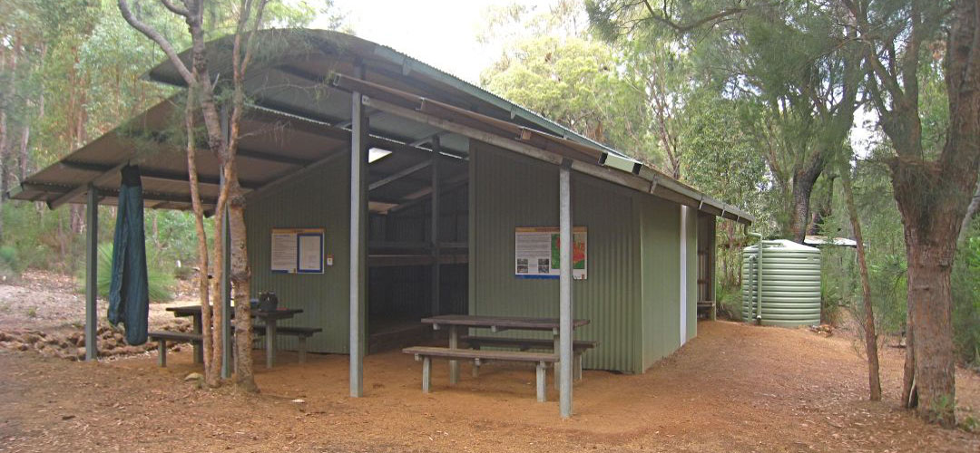 Carinyah Shelter, Munda Biddi Trail, Western Australia