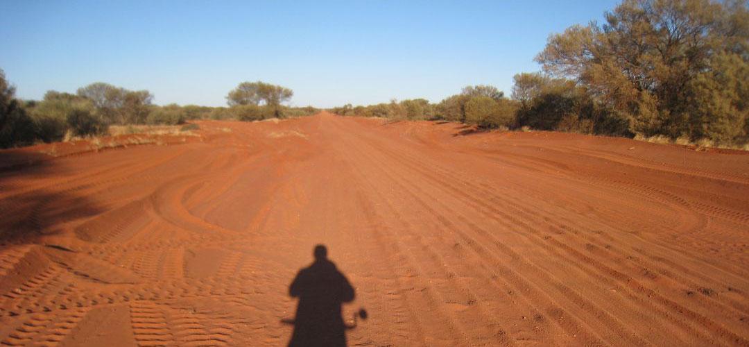 Heading to Kulgera, Finke Road, Northern Territory
